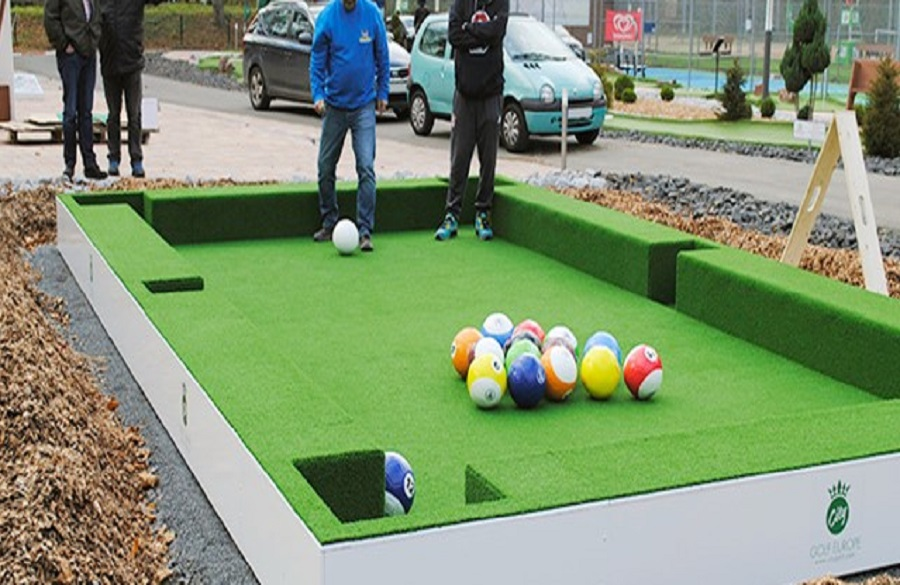 Fussball-Billiard