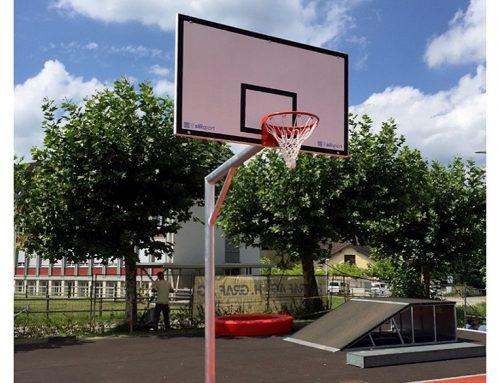 Basketballanlage – eckige Ausführung