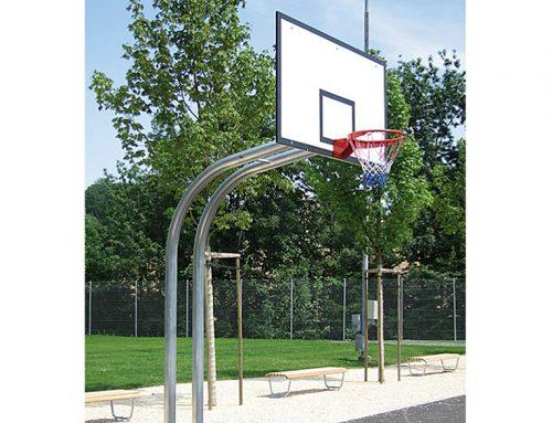 Basketballanlage – gebogene Ausführung