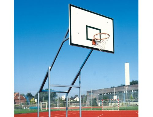 Basketballanlage – fahrbar