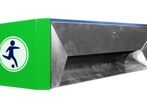Abfallsammelbank | Hat-Trick