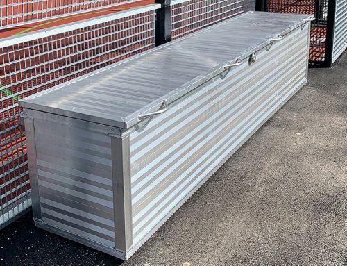 Aufbewahrungsbox für den Außenbedarf