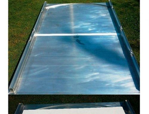 Aluminium Werferplatte