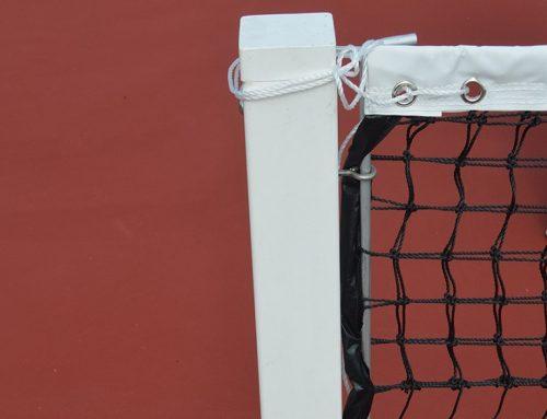 Tennispfosten